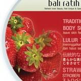 Bali Ratih Traditional Body Scrubs: Strawberry