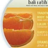 Bali Ratih Traditional Body Scrubs: Orange