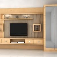 Lemari + Meja Tv + Kaca (3.5m x 2.20)