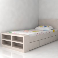 tempat tidur anak (1.2 x 2 meter)