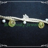 Braid Pearly Coin - Gold (B-05 Gold)