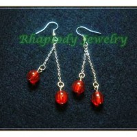 Anting Red Cherry (E-03)