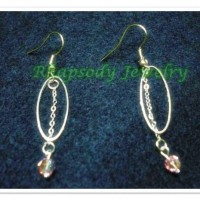 Anting Elips Swarovzki (E-04)