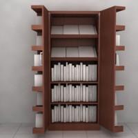 Rak Buku + Rak Cd (180 x 180 x 60cm)