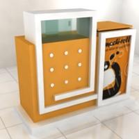 Counter Makanan (150 x 60 x 120cm)
