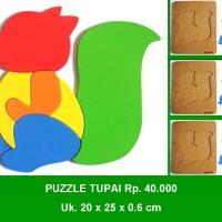 Puzzle Tupai