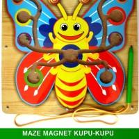 Maze Magnet Kupu-Kupu
