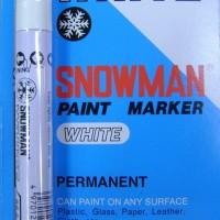 Paint Marker - Snowman - White Colour (Eaches / Per Piece)
