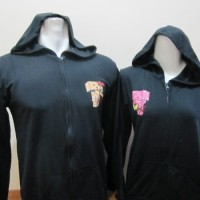 jaket robot hitam