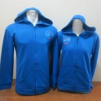 jaket tebal love inside biru