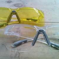 KleenGuard Eye Protection V30 - Amber And Clear (Antifog)