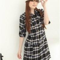 Block-Block Dress (untuk kemeja kantor)