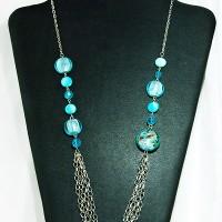 K032 - Sky Blue Chain (Free Box)