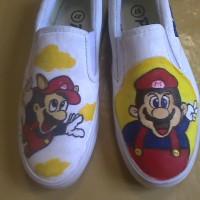 Sepatu Mario Bros Vans