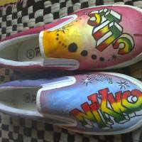 sepatu grafitty