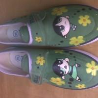 sepatu power puff girl