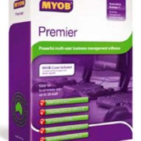 Software MYOB Premier Ver.11 (3 Users)  (Original Singapore)