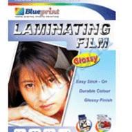 harga Blueprint Laminating Glossy Film (bp-gfa455)- A4, 20 Sheet, 55um, Laminating, Glossy Tokopedia.com