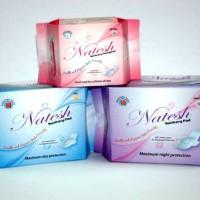 Natesh Sanitary Pads & Pantyliners ( 1 Set = isi 3 a.l. Day, Night & Pantyliner)