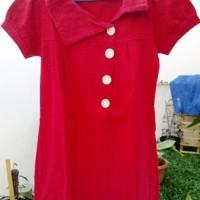 Blus Merah (All Size)