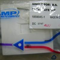 AMP Faceplate 1 hole