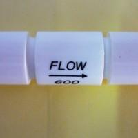 """Inline Flow Restrictor 1/4"""" (600 ml/min)"""