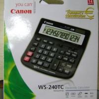 Calculator Canon WS-240TC