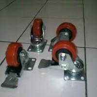 Jual Roda caster wheel Untuk Troli