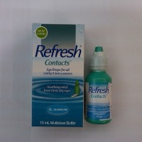 Refresh Contacts Eye Drops, Obat Tetes Mata untuk Contact Lenses