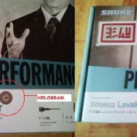 SHURE PG14/PG185 Performance Gear Wireless Lavaile