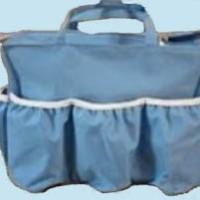 Diaper Bag Organizer Biru Polos