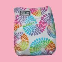 Ziggie Zag JUMBO Cloth Diaper - Fireworks