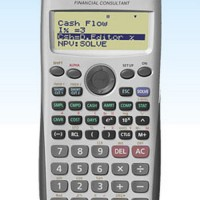 Calculator - Casio - Financial Calculator FC-100V