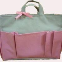 Bag Organizer Large - Abu-Abu Pink