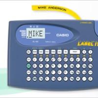 Label Maker - Casio - KL-60 (bonus 1 Transparent Tape)