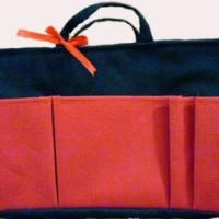 Bag Organizer Large - Hitam Merah