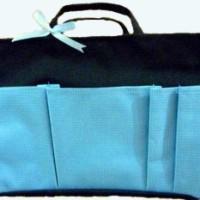 Bag Organizer Large - Hitam Biru
