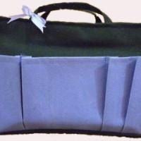 Bag Organizer Large - Hitam Ungu