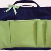 Bag Organizer Medium - Hitam Hijau