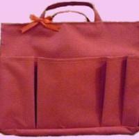 Bag Organizer Medium - Merah Full