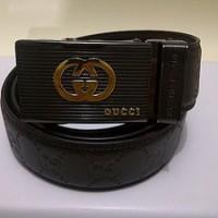 #B74, Ikat Pinggang GUCCI Patent Leather Belt