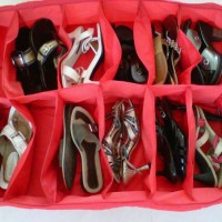 Shoes Bag Organizer Isi 12 Sepatu