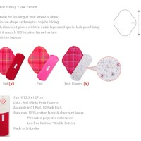Momiji Menstrual Pads - LARGE SIZE