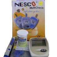 Nesco Multi Check N-01 (Glucose, Cholesterol, Uric Acid)