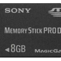 MEMORY STICK - PRO DUO 8 GB (GARANSI 1 TAHUN)