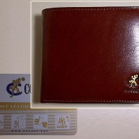 #W61, Dompet COSSET Genuine Leather Wallet