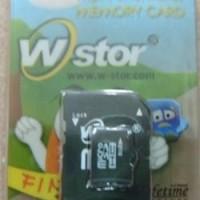 MICRO SDHC WSTORE 8 GB + ADAPTER SD