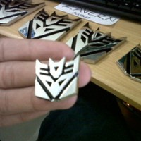 Emblem Transformers Decepticon Mini