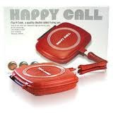 HAPPY CALL Double Grill Cooking Pan Jumbo Size .::Original Made In Korea::.