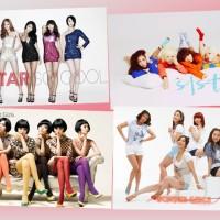 Exclusive Korean Poster (SIstar / Wonder Girls)